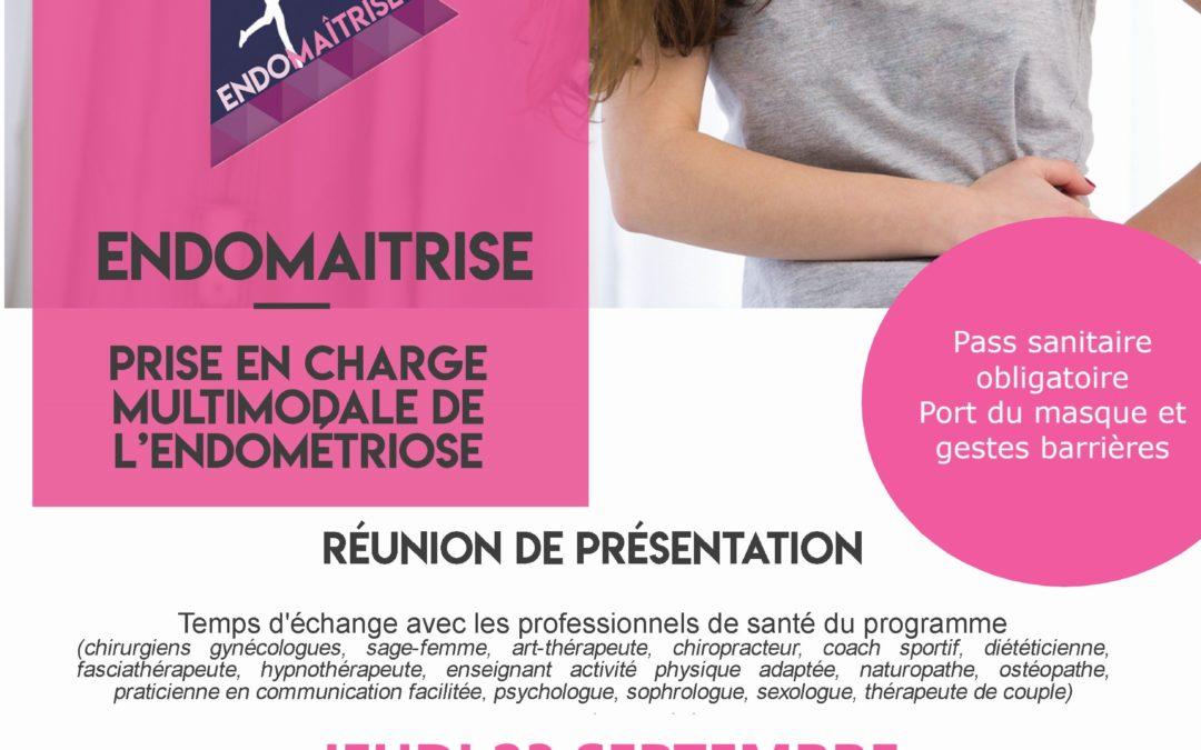 Nouvelle réunion de présentation du programme Endomaîtrise